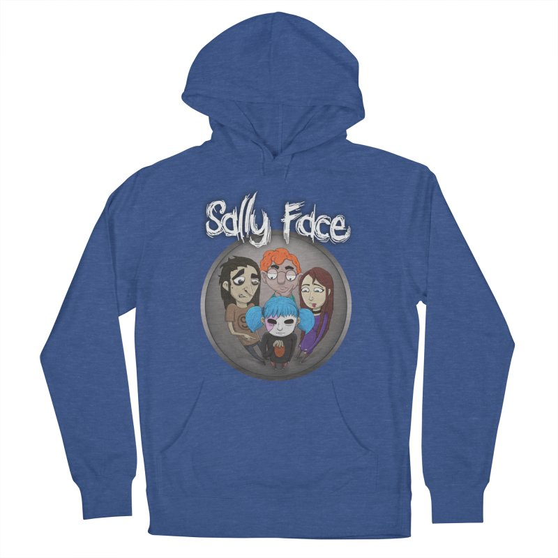 The Bologna Incident Men's French Terry Pullover Hoody by Official Sally Face Merch