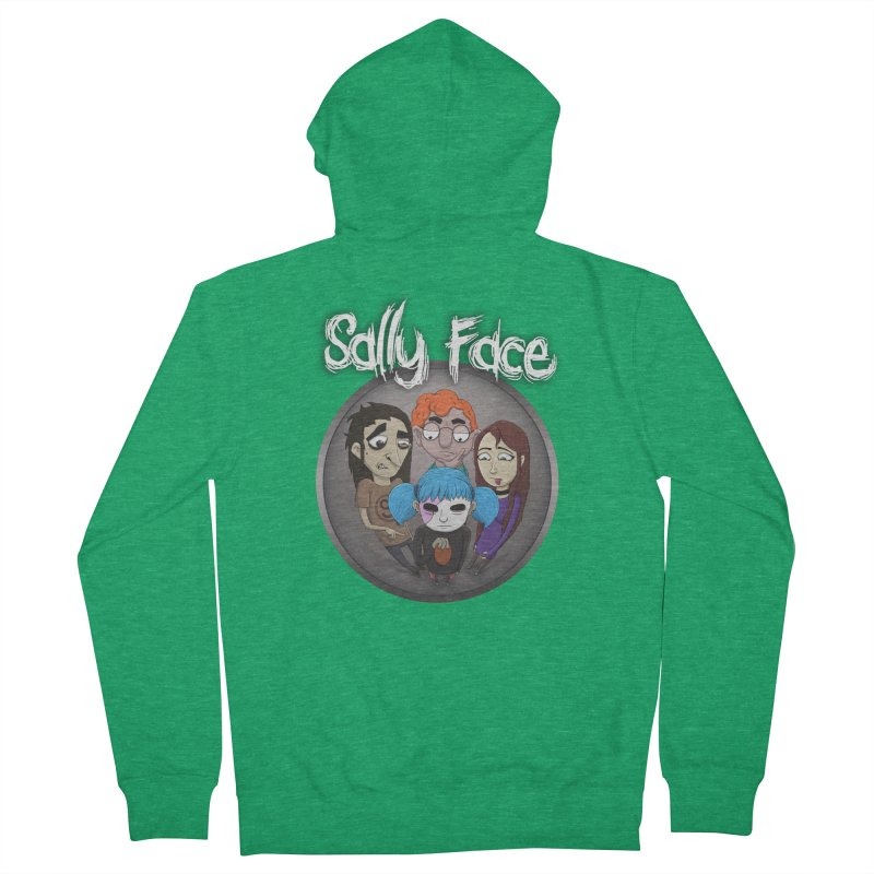 The Bologna Incident Men's Zip-Up Hoody by Official Sally Face Merch