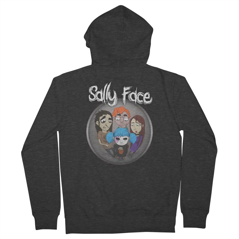 The Bologna Incident Men's French Terry Zip-Up Hoody by Official Sally Face Merch