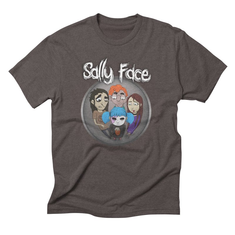 The Bologna Incident Men's Triblend T-Shirt by Official Sally Face Merch