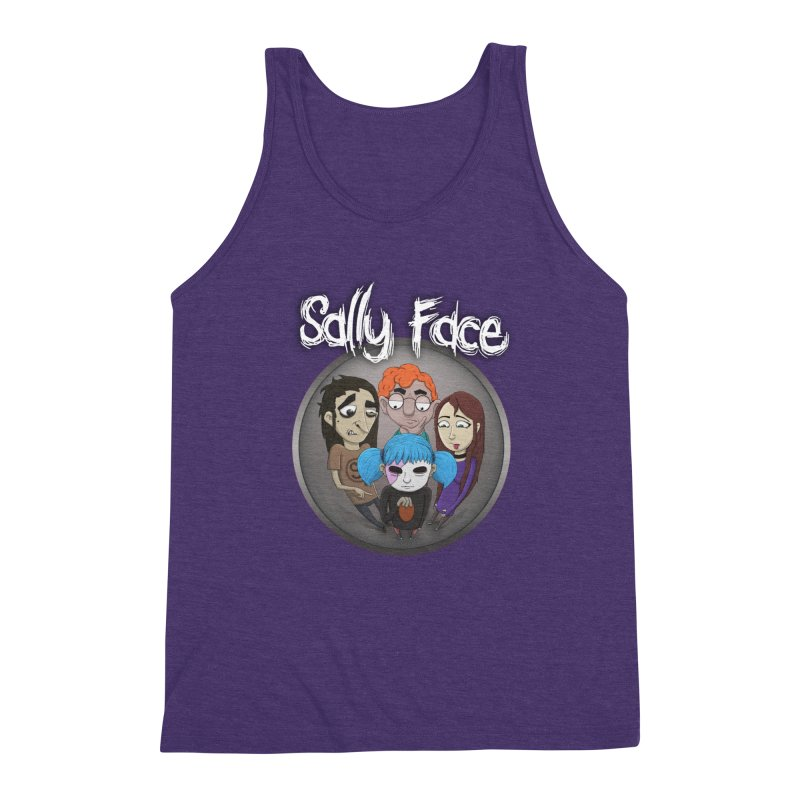 The Bologna Incident Men's Triblend Tank by Official Sally Face Merch
