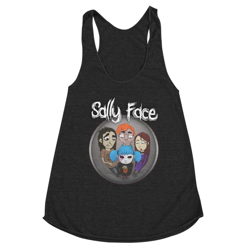The Bologna Incident Women's Racerback Triblend Tank by Official Sally Face Merch