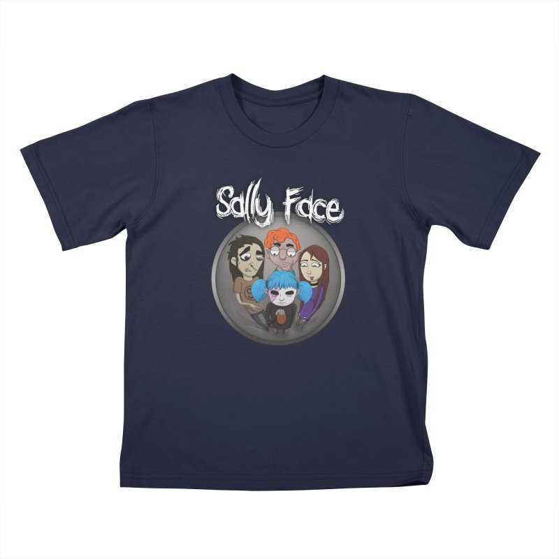 The Bologna Incident Kids T-Shirt by Sally Face Shop