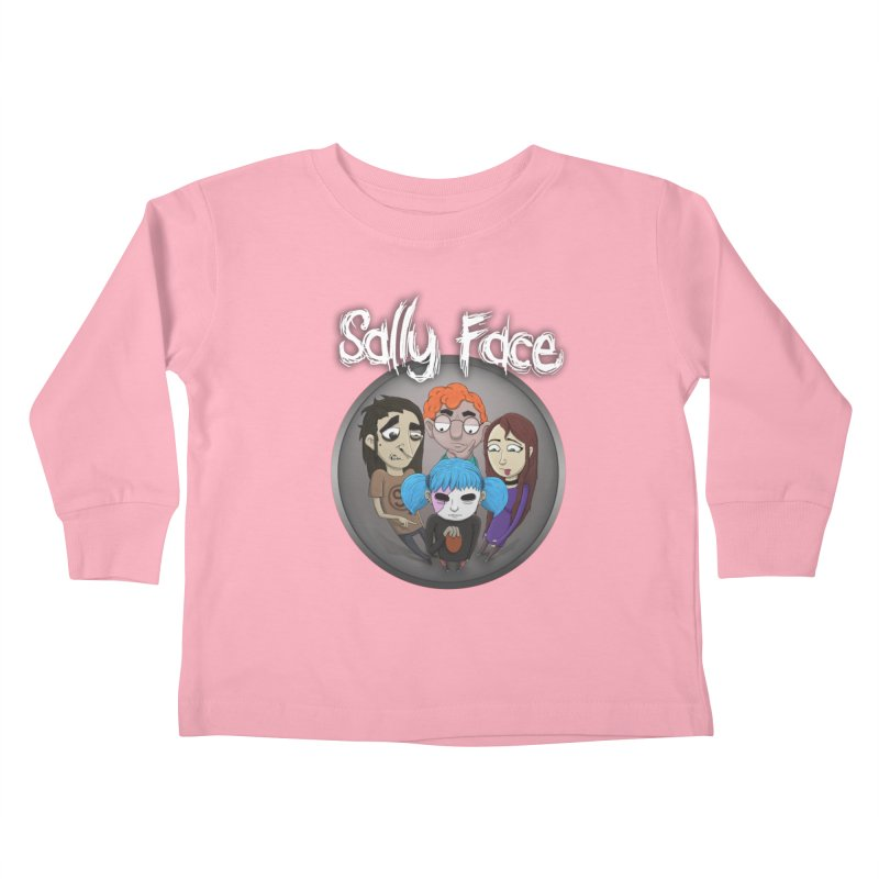 The Bologna Incident Kids Toddler Longsleeve T-Shirt by Official Sally Face Merch
