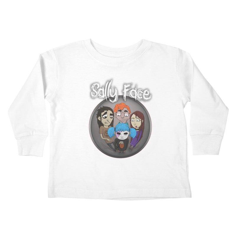 The Bologna Incident Kids Toddler Longsleeve T-Shirt by Official Sally Face Merch