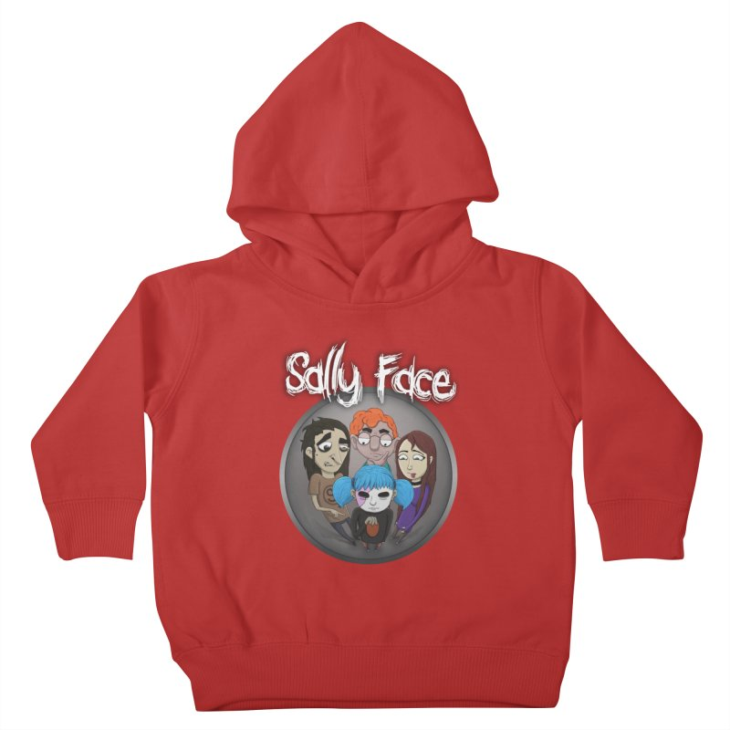 The Bologna Incident Kids Toddler Pullover Hoody by Official Sally Face Merch