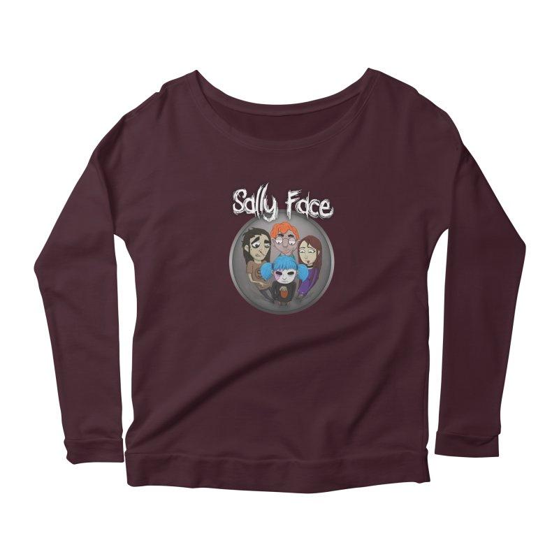 The Bologna Incident Women's Longsleeve T-Shirt by Official Sally Face Merch