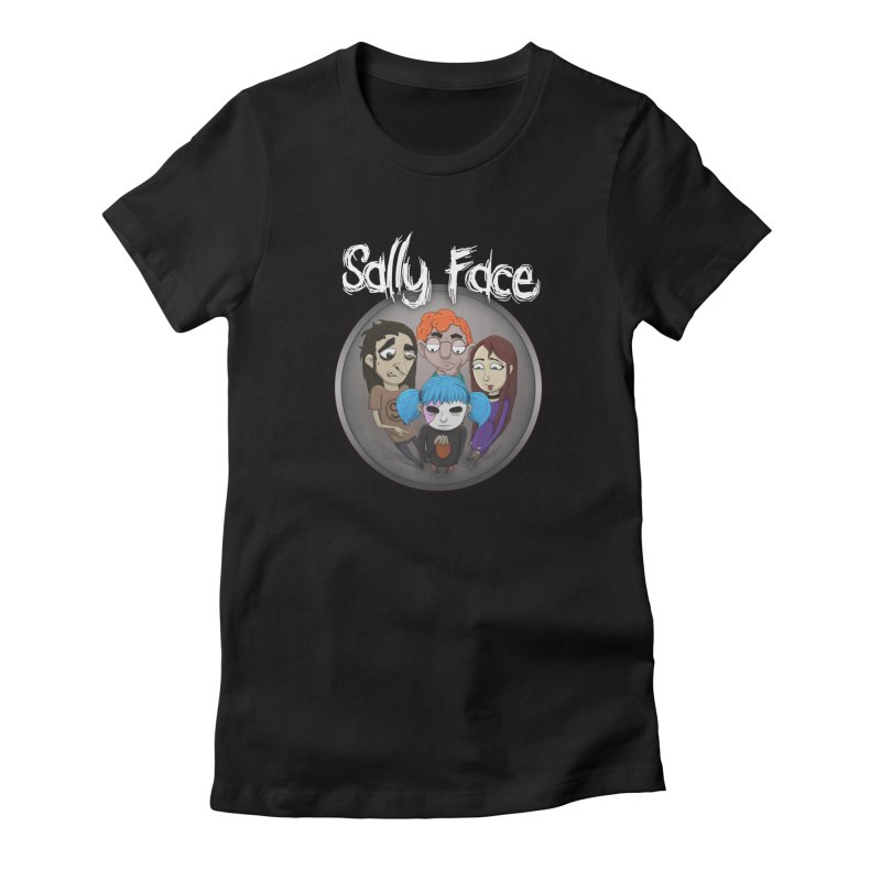 The Bologna Incident Women's Fitted T-Shirt by Official Sally Face Merch