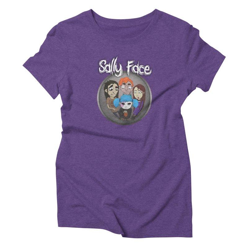 The Bologna Incident Women's Triblend T-Shirt by Official Sally Face Merch