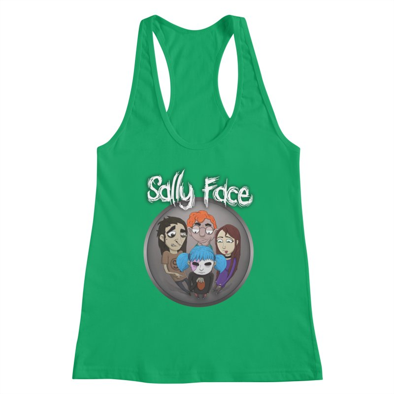 The Bologna Incident Women's Racerback Tank by Official Sally Face Merch