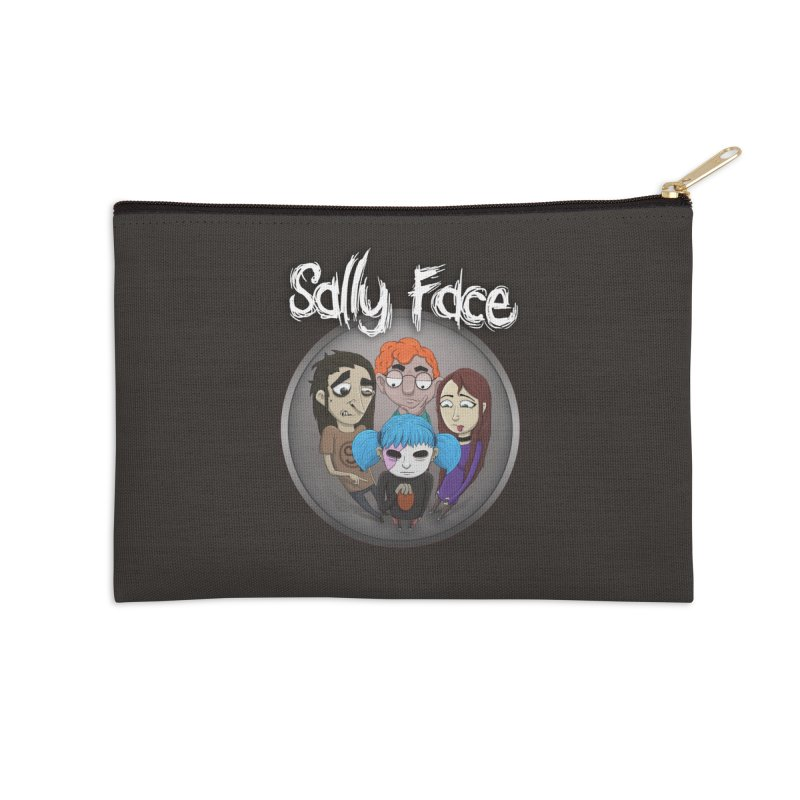 The Bologna Incident Accessories Zip Pouch by Official Sally Face Merch