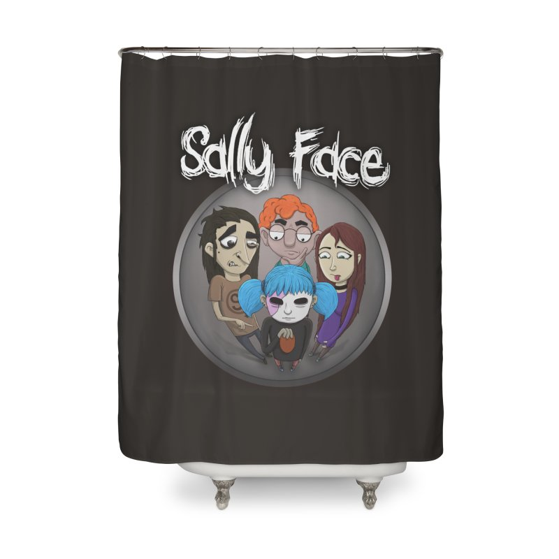 The Bologna Incident Home Shower Curtain by Official Sally Face Merch