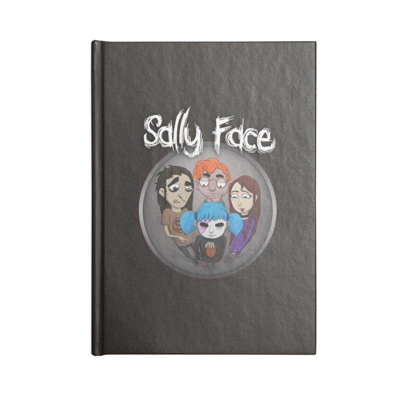 The Bologna Incident Accessories Lined Journal Notebook by Official Sally Face Merch