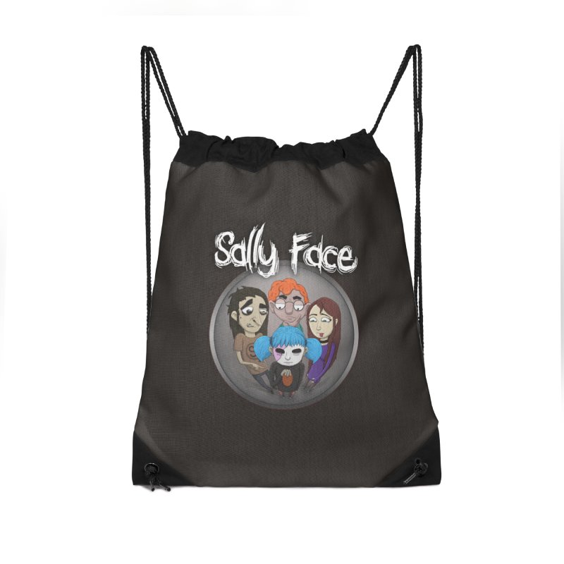 The Bologna Incident Accessories Drawstring Bag Bag by Official Sally Face Merch