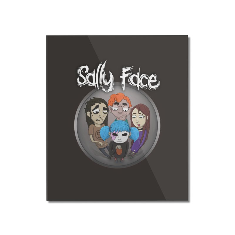 The Bologna Incident Home Mounted Acrylic Print by Official Sally Face Merch
