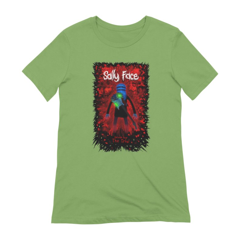 The Trial Women's Extra Soft T-Shirt by Official Sally Face Merch