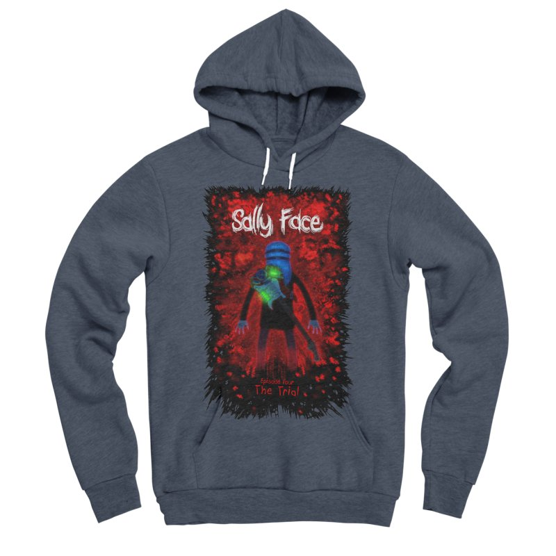 The Trial Women's Sponge Fleece Pullover Hoody by Official Sally Face Merch