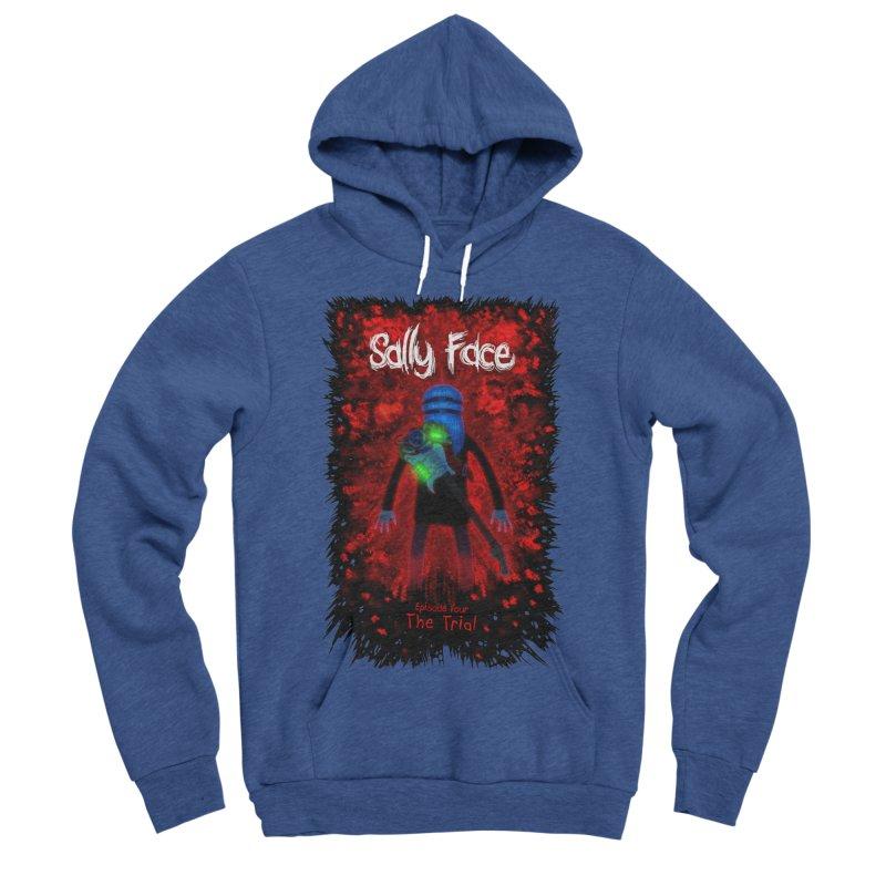 The Trial Men's Sponge Fleece Pullover Hoody by Official Sally Face Merch