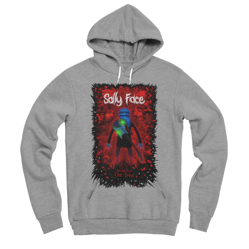 The Trial Men's Sponge Fleece Pullover Hoody by Official Sally Face Merch