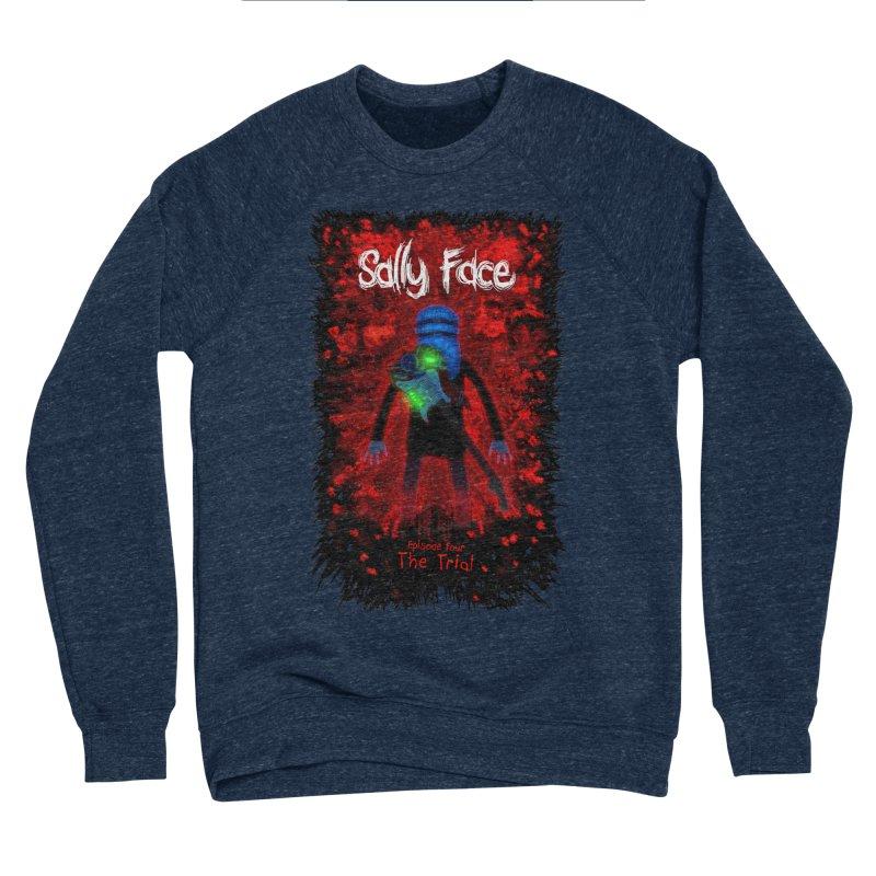 The Trial Men's Sponge Fleece Sweatshirt by Official Sally Face Merch