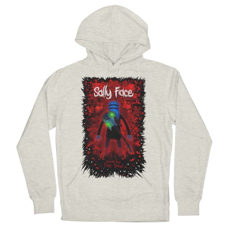 The Trial Women's French Terry Pullover Hoody by Official Sally Face Merch