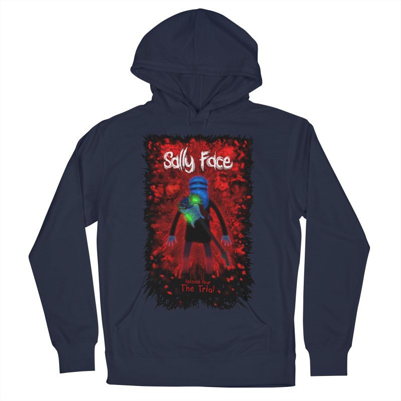 The Trial Men's French Terry Pullover Hoody by Official Sally Face Merch