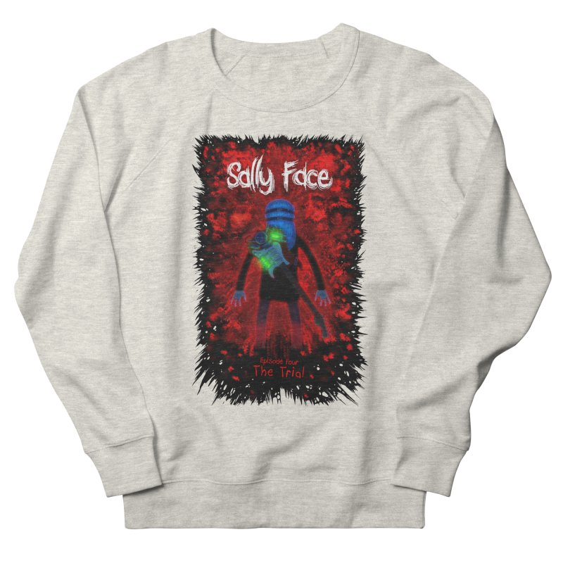 The Trial Women's French Terry Sweatshirt by Official Sally Face Merch