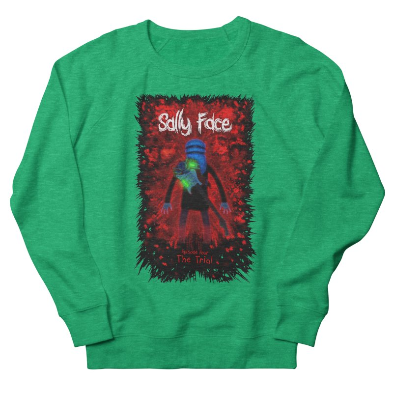 The Trial Men's French Terry Sweatshirt by Official Sally Face Merch