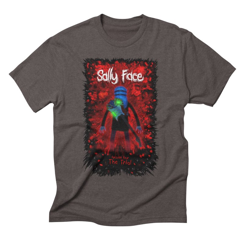 The Trial Men's Triblend T-Shirt by Official Sally Face Merch
