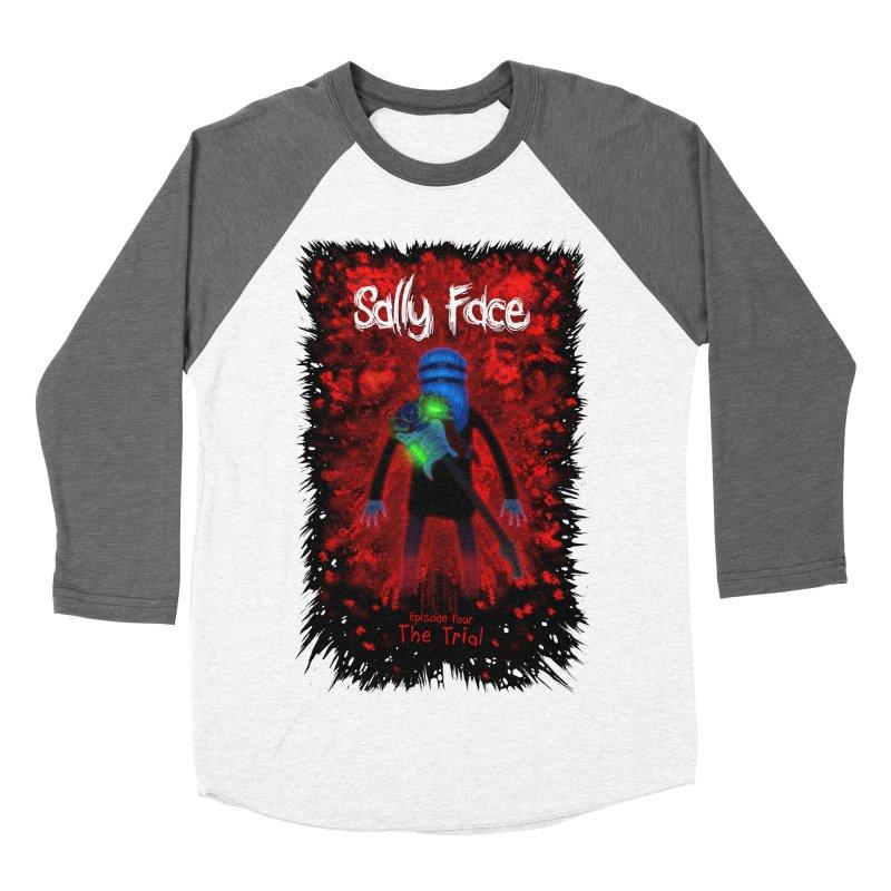 The Trial Women's Baseball Triblend Longsleeve T-Shirt by Official Sally Face Merch