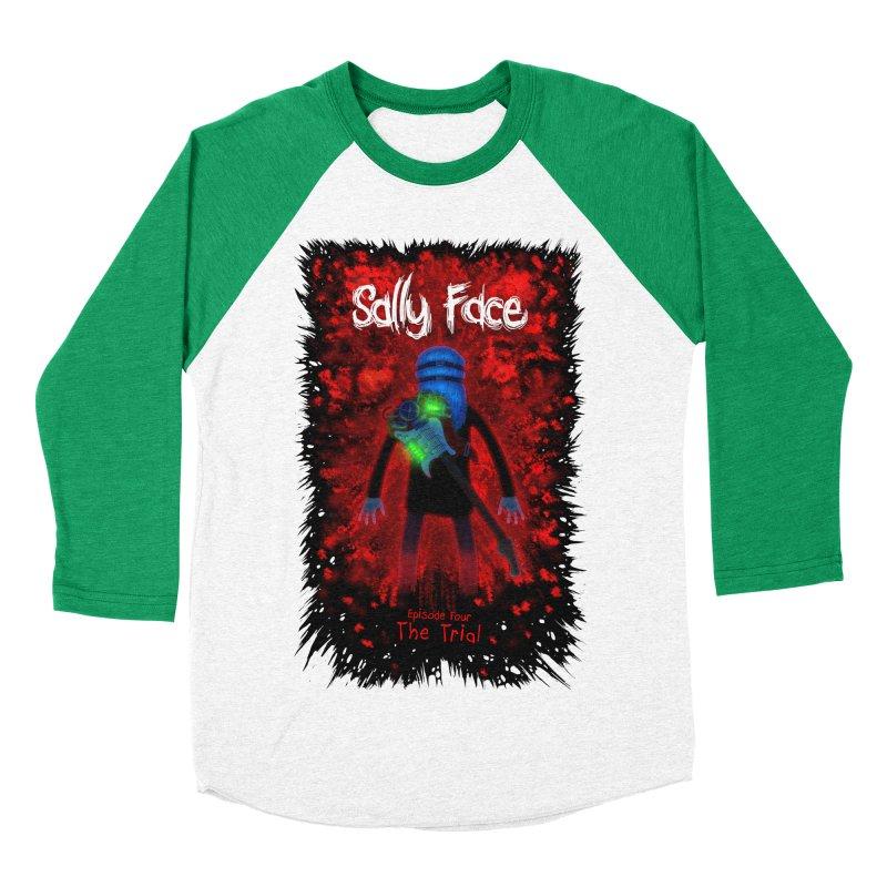 The Trial Men's Baseball Triblend Longsleeve T-Shirt by Official Sally Face Merch