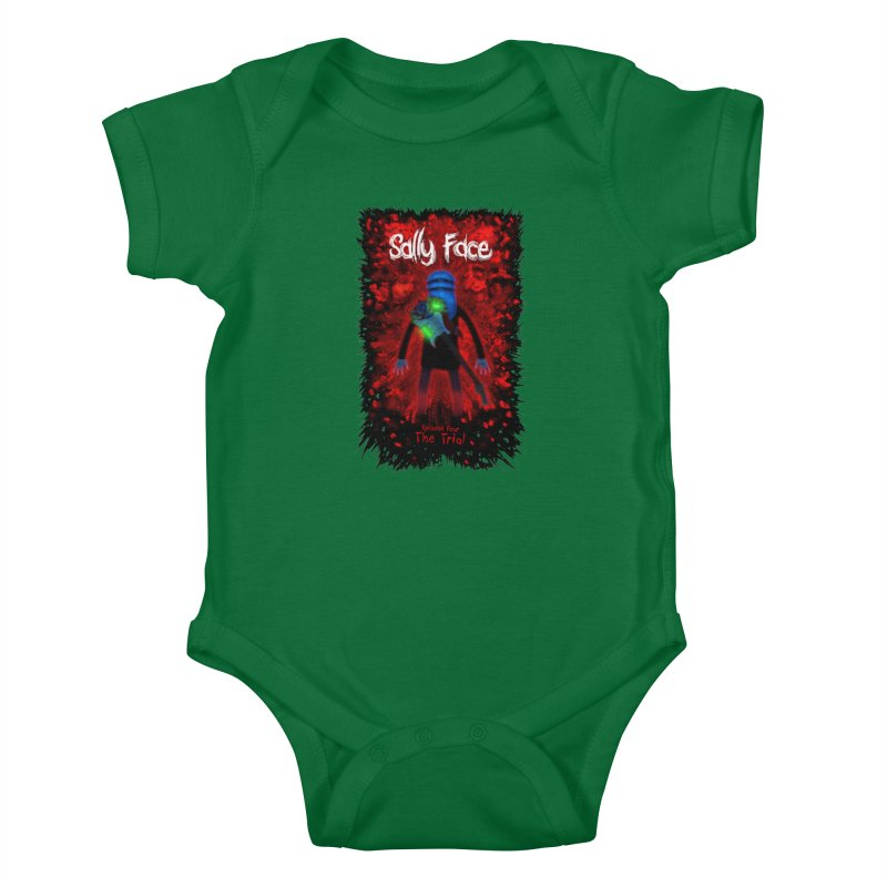 The Trial Kids Baby Bodysuit by Official Sally Face Merch