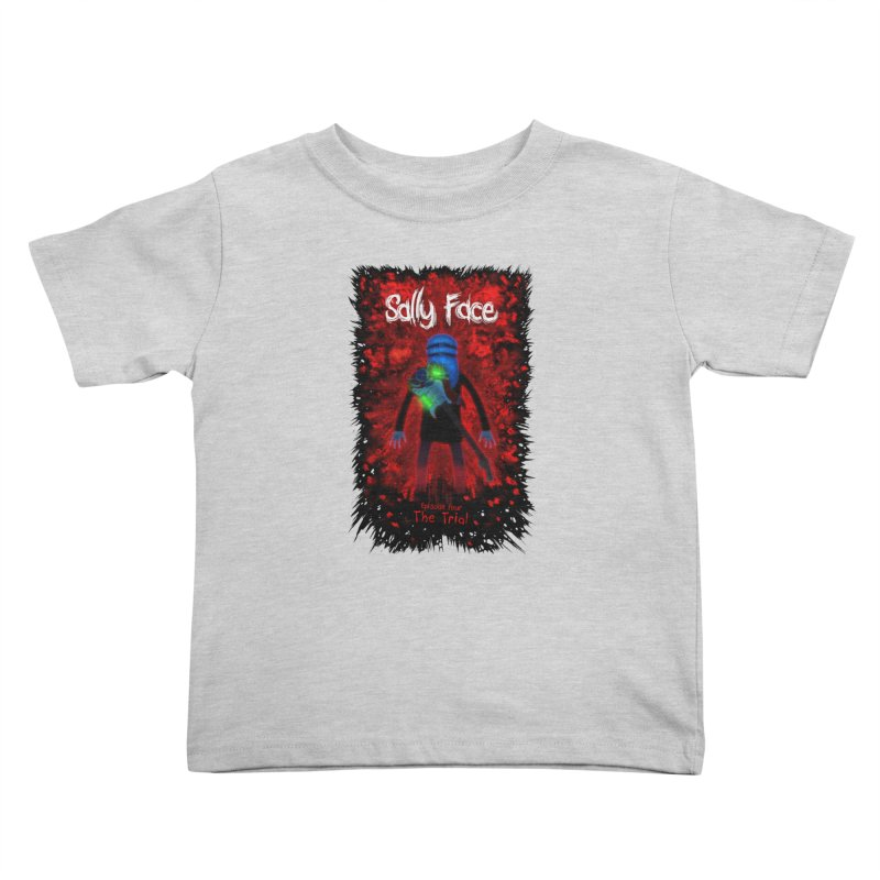The Trial Kids Toddler T-Shirt by Official Sally Face Merch