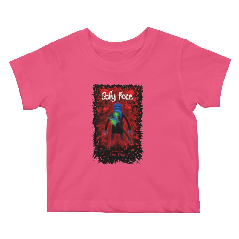 The Trial Kids Baby T-Shirt by Official Sally Face Merch