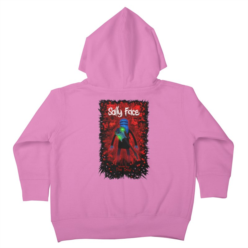 The Trial Kids Toddler Zip-Up Hoody by Official Sally Face Merch