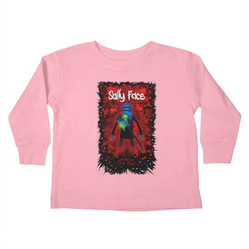 The Trial Kids Toddler Longsleeve T-Shirt by Official Sally Face Merch