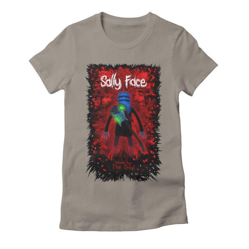 The Trial Women's Fitted T-Shirt by Official Sally Face Merch