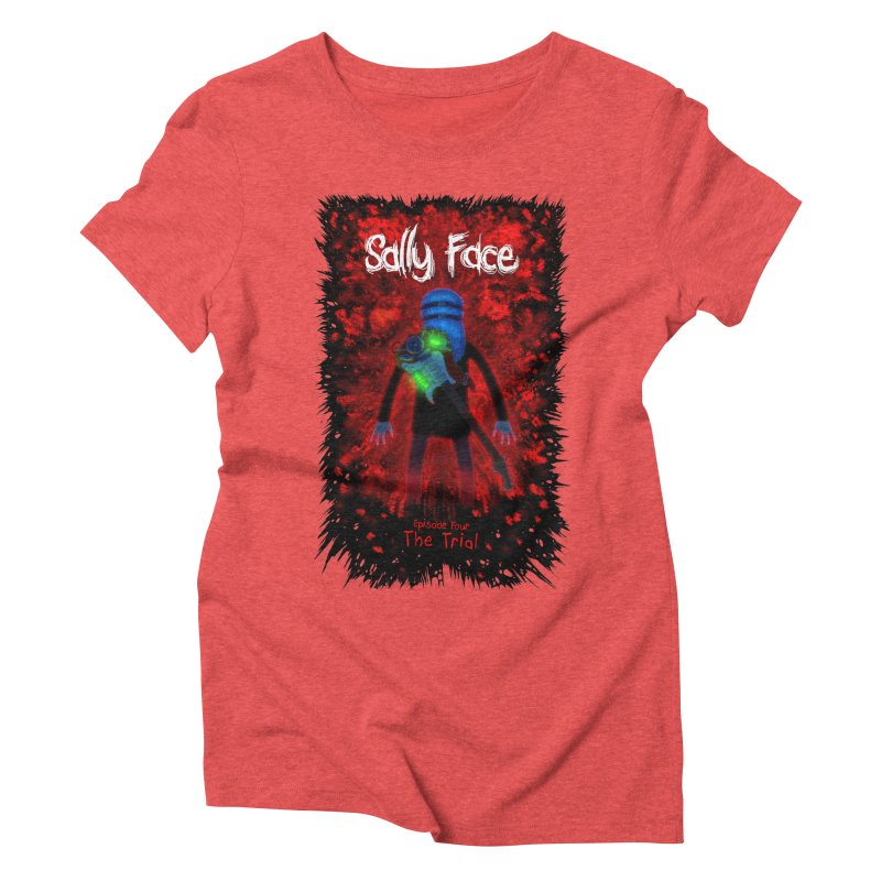 The Trial Women's Triblend T-Shirt by Official Sally Face Merch