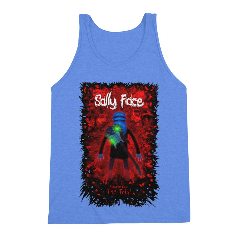 The Trial Men's Triblend Tank by Official Sally Face Merch