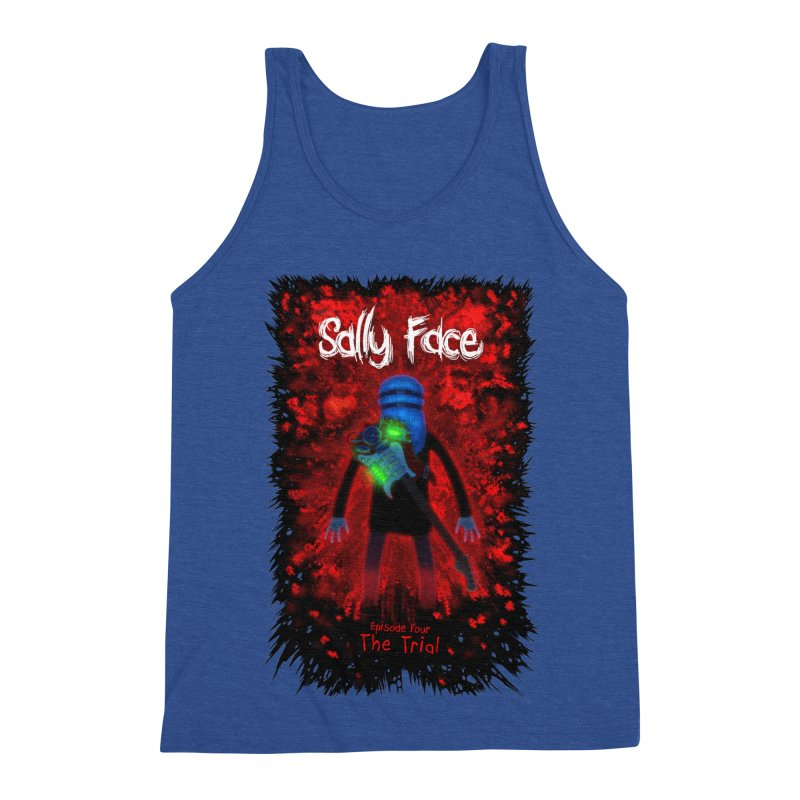 The Trial Men's Tank by Official Sally Face Merch