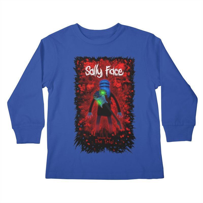 The Trial Kids Longsleeve T-Shirt by Official Sally Face Merch