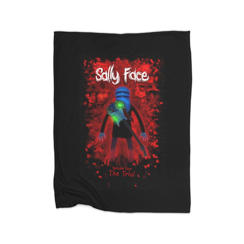The Trial Home Fleece Blanket Blanket by Official Sally Face Merch