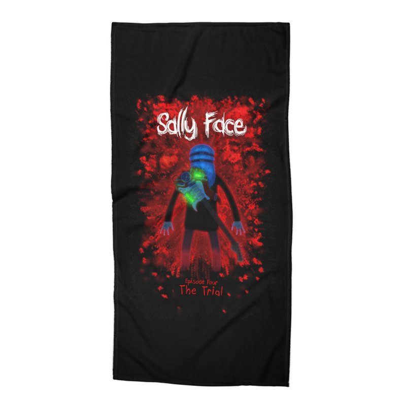The Trial Accessories Beach Towel by Official Sally Face Merch