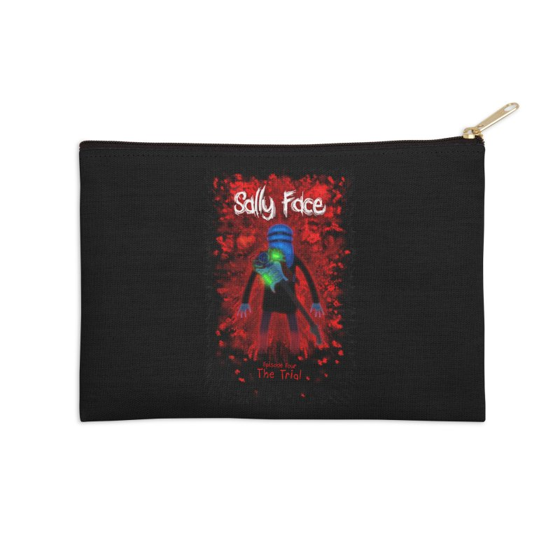 The Trial Accessories Zip Pouch by Official Sally Face Merch