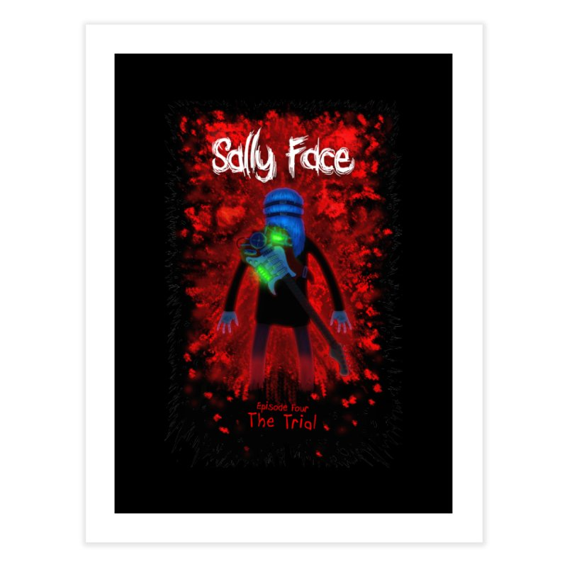 The Trial Home Fine Art Print by Official Sally Face Merch