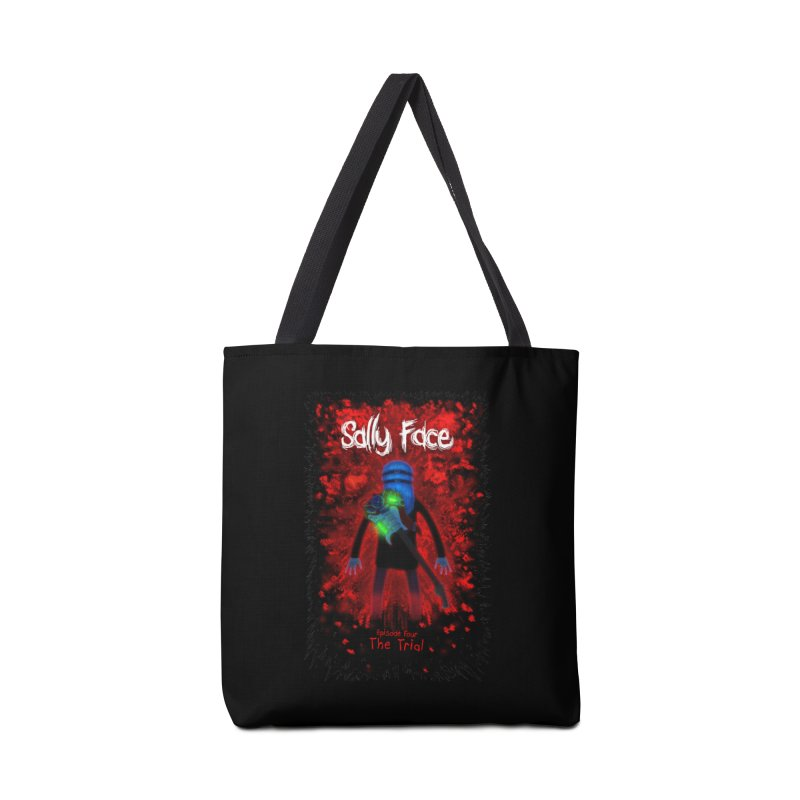 The Trial Accessories Tote Bag Bag by Official Sally Face Merch