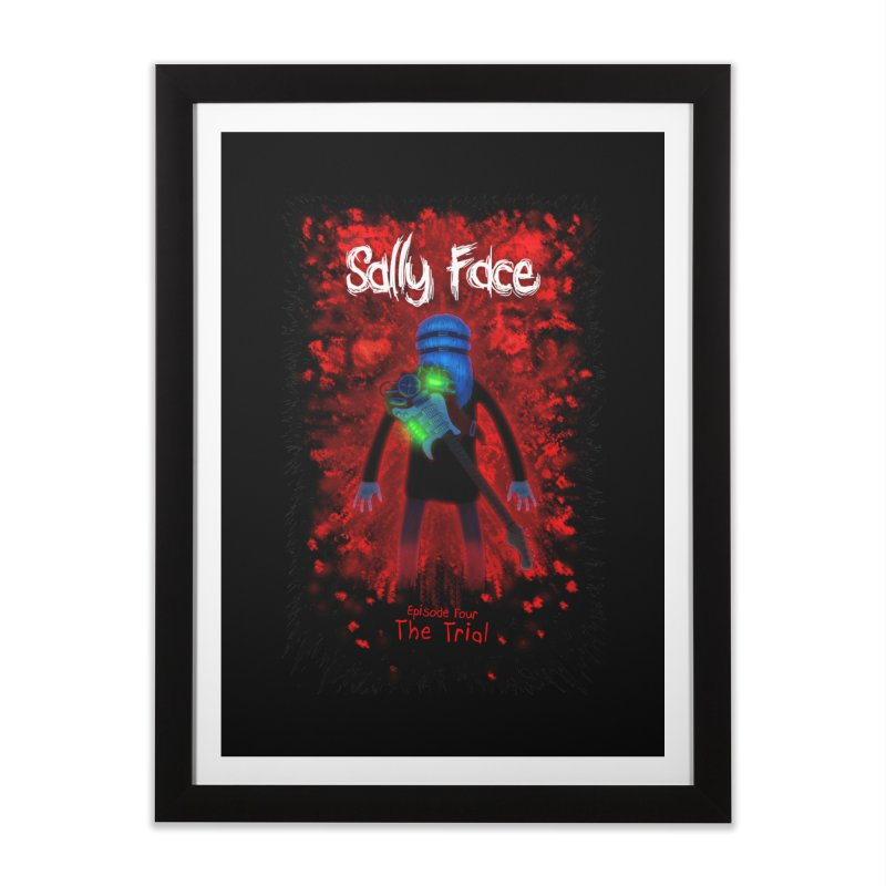 The Trial Home Framed Fine Art Print by Official Sally Face Merch