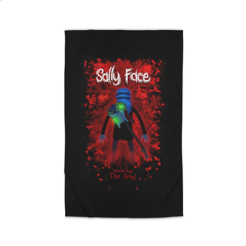 The Trial Home Rug by Official Sally Face Merch