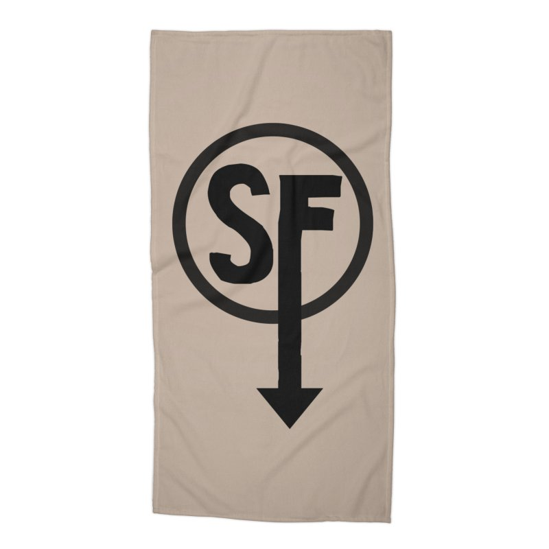 (SF) Larry's Shirt Accessories Beach Towel by Official Sally Face Merch