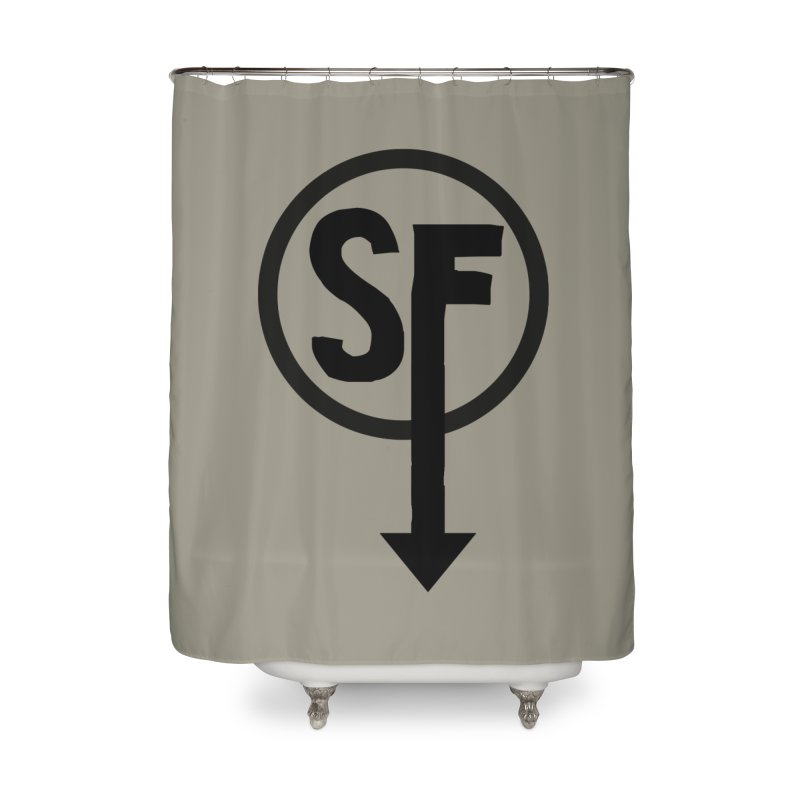 (SF) Larry's Shirt Home Shower Curtain by Official Sally Face Merch